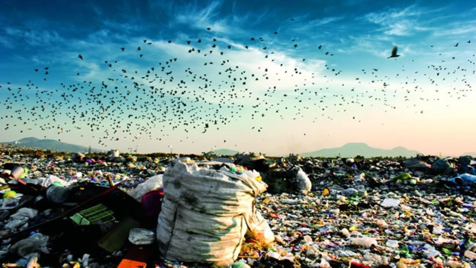 basura tiradero neza II desechos