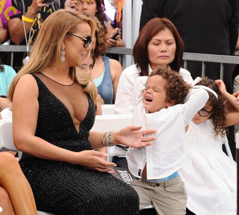 Moroccan y Monroe son los nombres de los gemelos que la intérprete tiene con su esposo Nick Cannon.