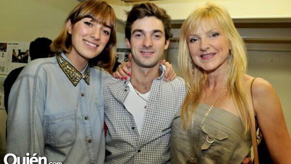 Coquis y Jaime Valdés con Gina Medina