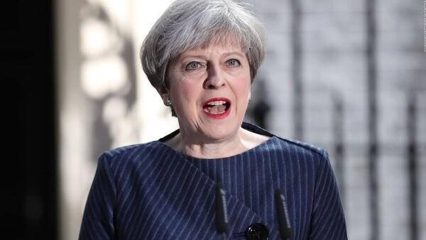 El gobierno de Reino Unido llama a elecciones anticipadas