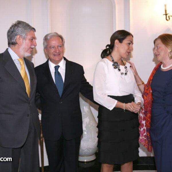 Manuel Alabart,Daniel Parfait y Cristina Pineda,Cristina Alabart