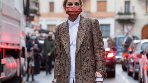 Olivia Palermo Spring Summer 2021, Milan Fashion Week, Streetstyle- 24 Sep 2020