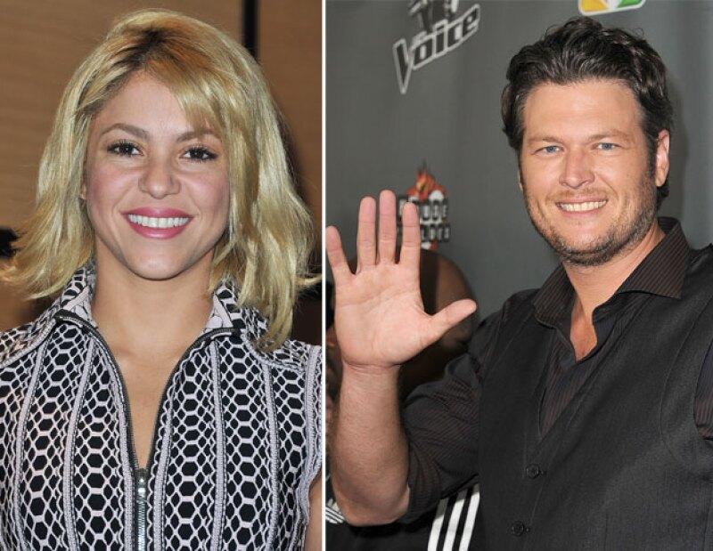 """Actualmente la colombiana es coach en el programa """"The Voice"""" y es su compañero Blake Shelton quien ha tenido problemas con el acento de ella."""