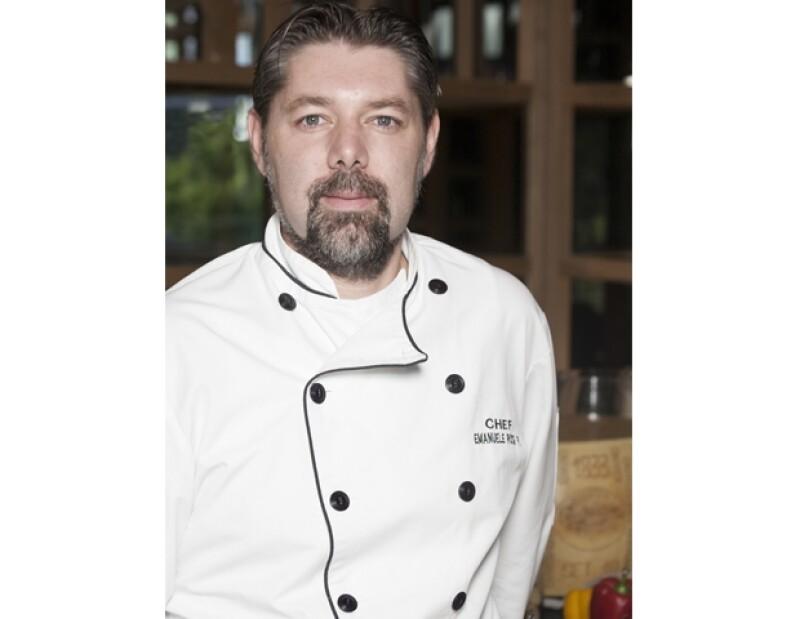 El chef creó una cocina fusión entre recetas tradicionales italianas y propuestas contemporáneas con un toque orgánico.