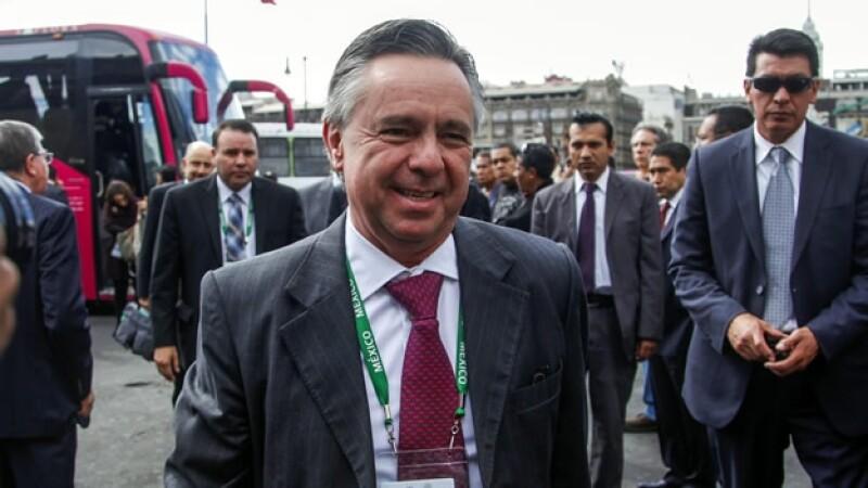 MEDINA MORA embajador de México en EU