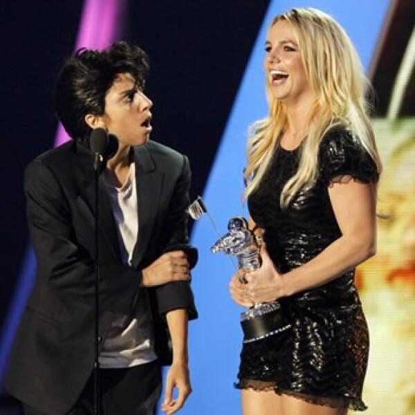 MTV Britney Spears Lady Gaga Premios Jo Calderone