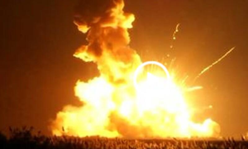 No se han aclarado los motivos de la explosión. (Foto: Especial )