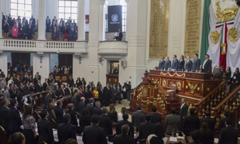 El martes podría ser aprobado el documento por el Pleno de la ALDF. (Foto: Cuartoscuro )