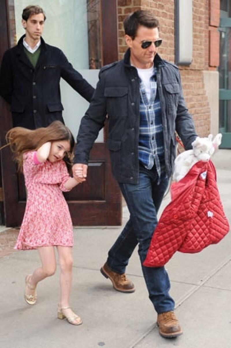 El actor no ha podido ver a su hija por cuestiones de trabajo, sin embargo ya planea un viaje para compensar el tiempo perdido.