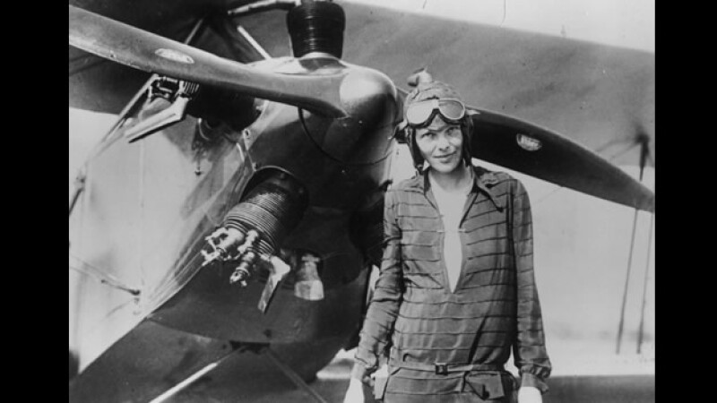 Amelia Earhart avion