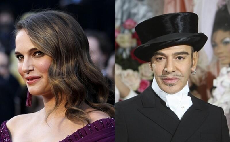 La ganadora del Oscar declaró que no quiere ser relacionada con la imagen del diseñador debido a sus declaraciones contra los judíos.