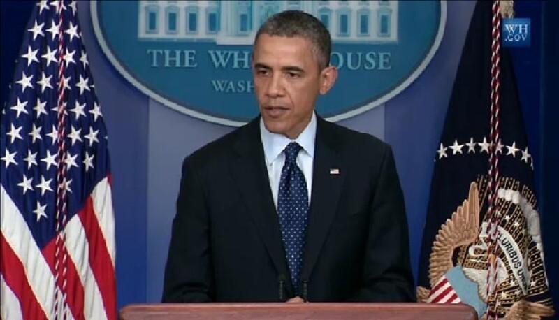 El Presidente de Estados Unidos envió sus condolencias a todos los afectados y manifestó que se encontrará a los responsables de lo ocurrido y se hará justicia.