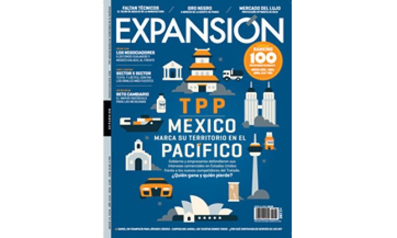 La más reciente edición de Expansión circula del 15 al 31 de enero. (Foto: Marco Goran)