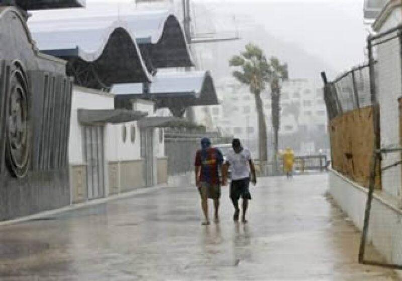 Las autoridades esperan lluvias intensas para las próximas horas. (Foto: Reuters)
