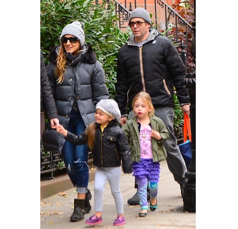 Matthew Broderick y Sarah Jessica Parker disfrutan de pasar todo el tiempo posible con sus hijos.