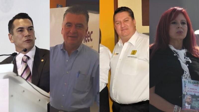 Candidatos de Campeche