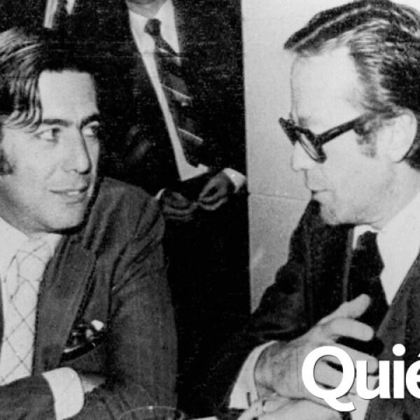 Con mario Vargas Llosa.