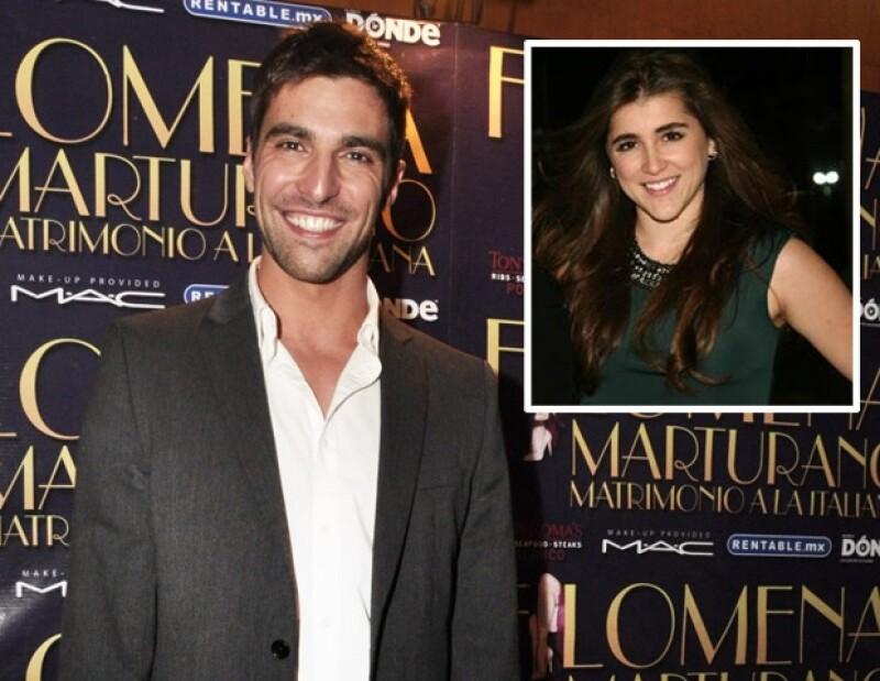 El actor nos confirmó que ha comenzado una nueva relación sentimental con una joven actriz de quien se enamoró a primera vista, luego de conocerla en la telenovela 'Una Familia con suerte&#39.