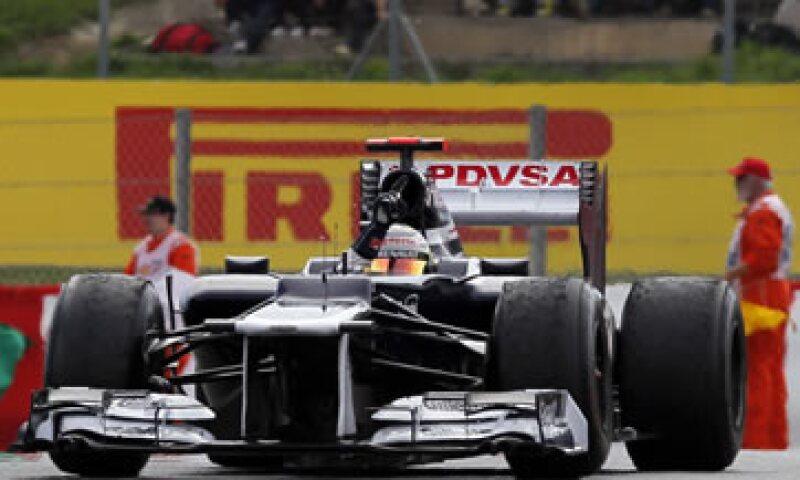 El venezolano Pastor Maldonado obtuvo su primer triunfo en la F1, luego de llevarse el GP de España. (Foto: AP)