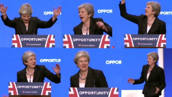Theresa May baila 'Dancing Queen' para hablar del Brexit