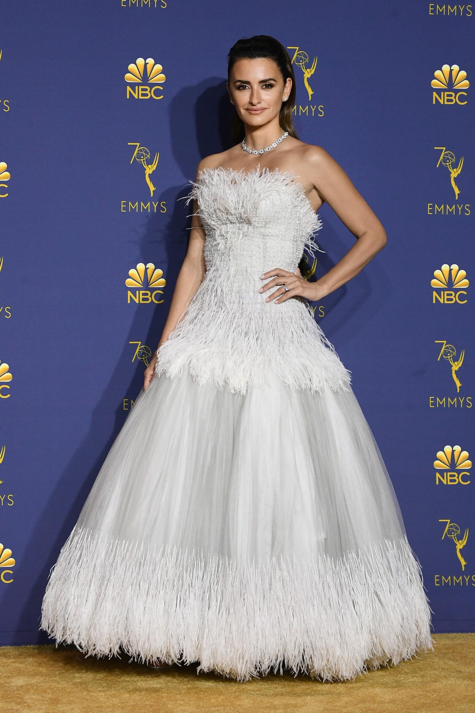 Penelope Cruz impactó en este vestido de Chanel
