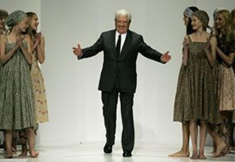 Jean Bousquet fue homenajeado por el público y sus modelos.