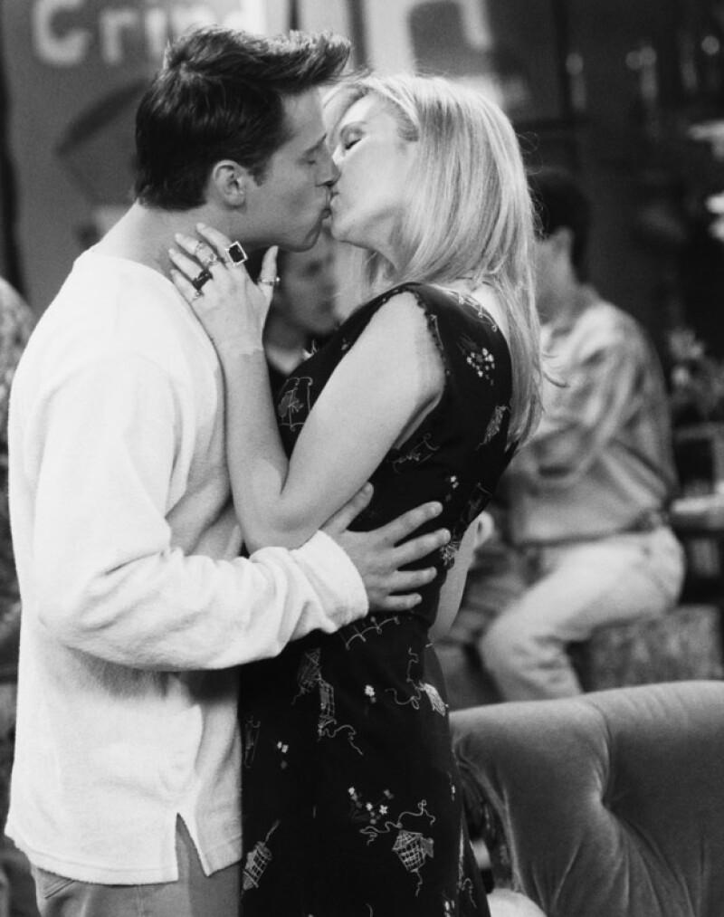 Sin embargo no perdieron oportunidad de besarse en algunas ocasiones.
