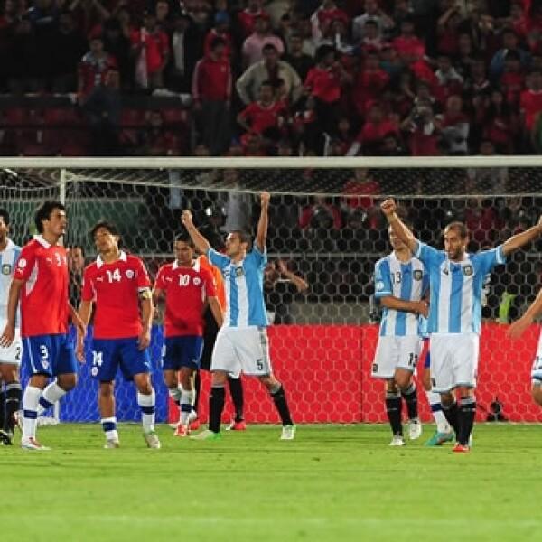 argentina chila eliminatorias mundialistas brasil 2014