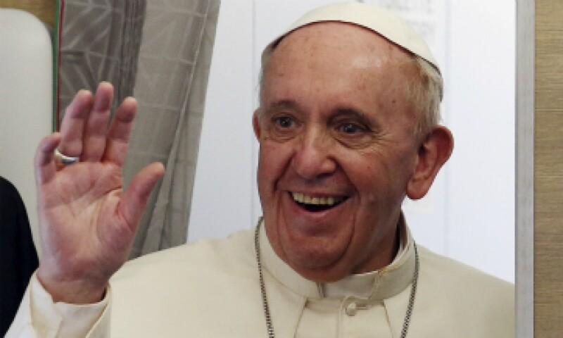 El papa Francisco afirmó que visitará el DF para venerar a la Virgen de Guadalupe. (Foto: Reuters)