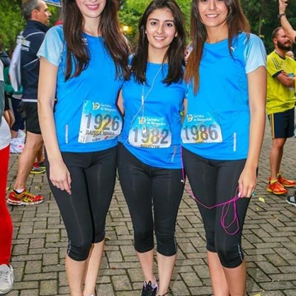 Raissa Rouco,Magdalena Gutiérrez y Arely Martínez