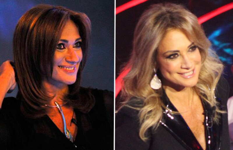 La imagen de la izquierda fue tomada en 2002, durante la primera emisión de Big Brother. La de la derecha fue tomada la noche de ayer.