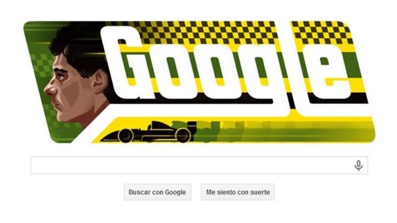 Ayrton Senna Google doodle