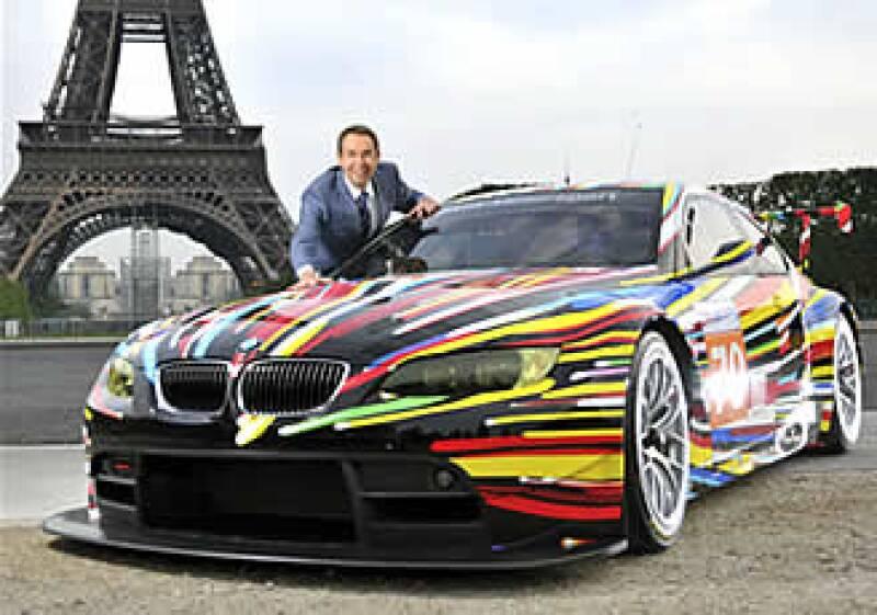 El piloto de carreras francés Hervé Poulain fue quien tuvo la idea por primera vez de pedir a un artista que pintara el automóvil con el que iba a competir. (Foto: Cortesía BMW)