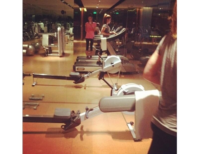 Jessica Alba se pone en forma