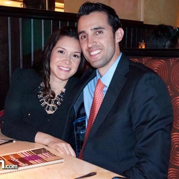 Elizabeth González y Mauricio Prérez