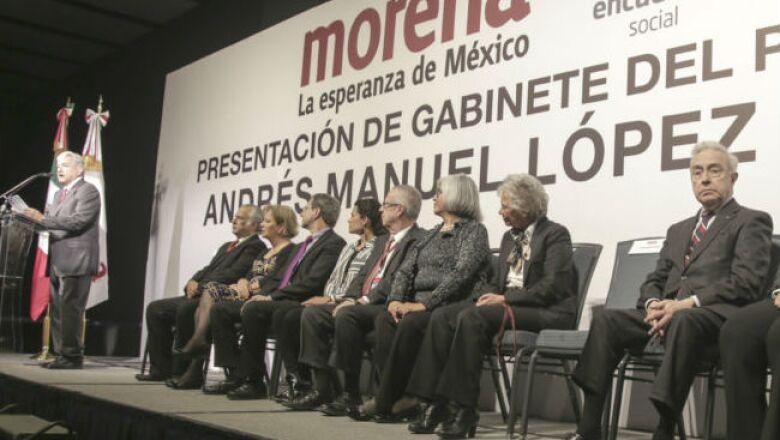 Gabinete de AMLO presentaci�n