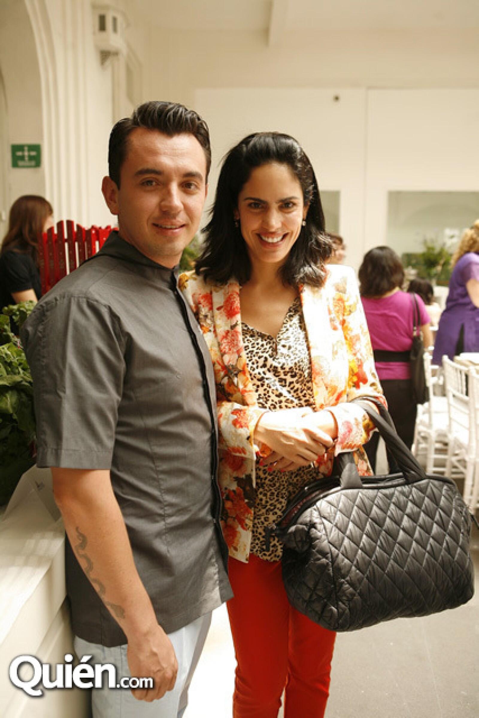Edgar Núñez y Tatiana Ortiz Monasterio