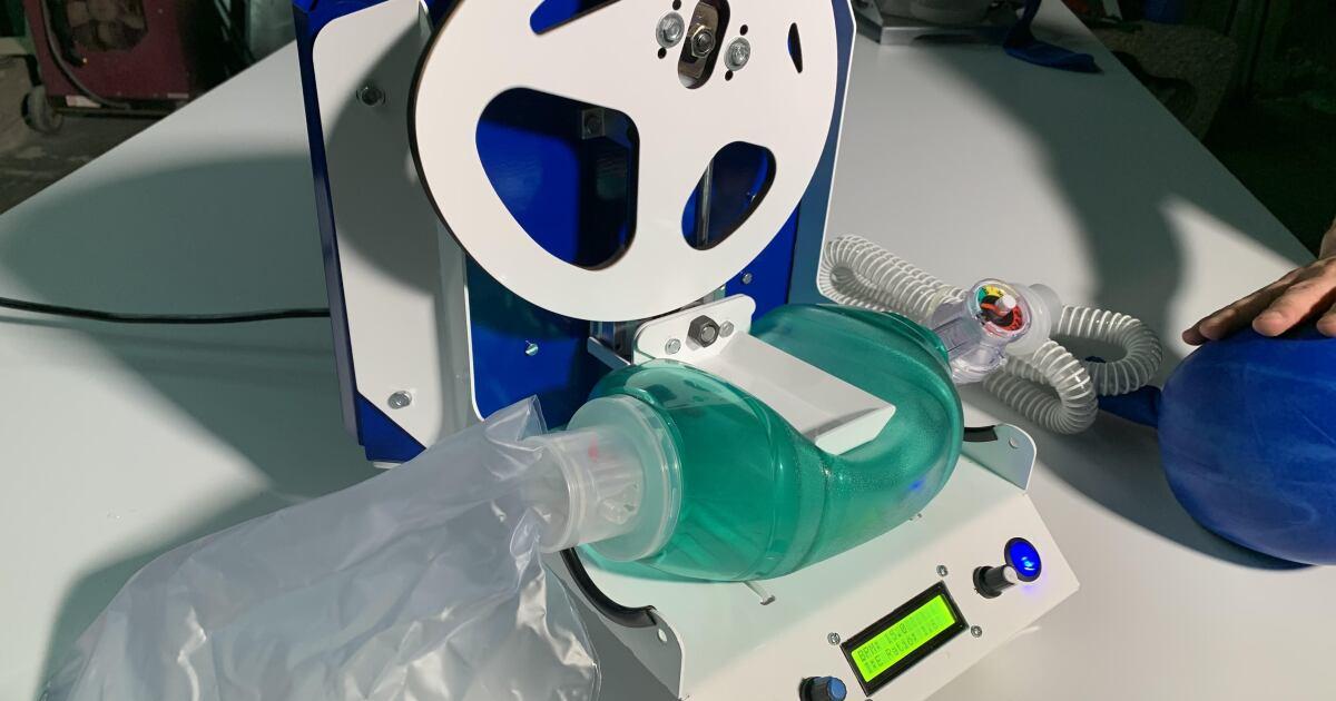 Crean dispositivo que ayuda a reducir contagios del personal médico
