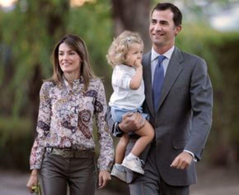 La primogénita de los Príncipe de Asturias celebrará hoy con sus compañeros del Colegio Santa María de los Rosales.