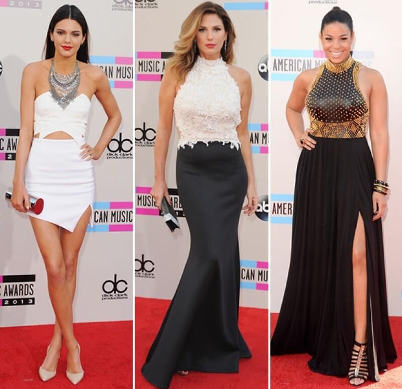 Kendall Jenner, Daisy Fuentes y Jordin Sparks fueron de lo mejor en la alfombra roja.