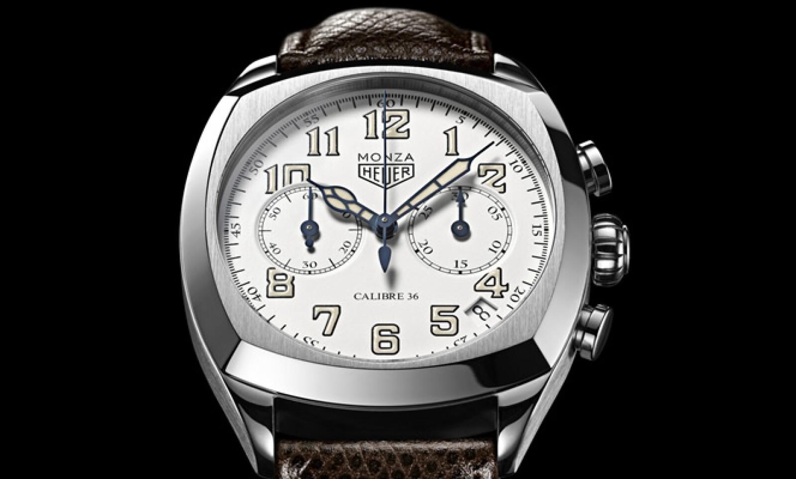 La firma presenta su nueva colección de relojes encabezada por el modelo 'Monza', una edición limitada de 1,911 piezas, con un diámetro de 42 mm, correa de piel y resistencia al agua hasta en 10 metros.
