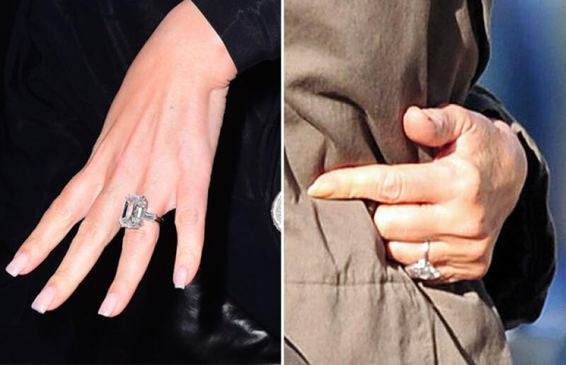 Ambos diamantes son impresionantes por su tamaño y su costo, aunque el de Mariah ha ganado por tener más quilates y costar unos 8 millones de dólares.