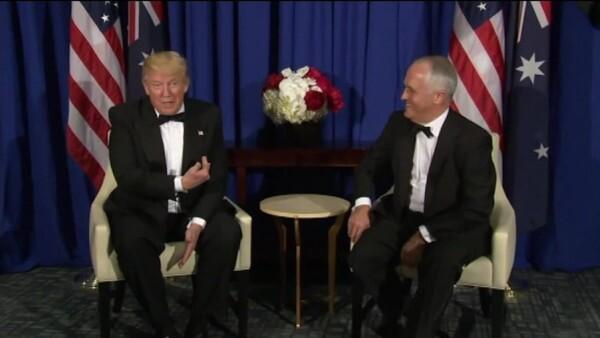 De extraña a más extraña, la relación de Donald Trump con el primer ministro de