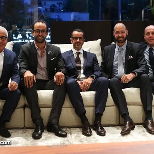 Pietro Gatimberti,Alberto Levy,Mateo Galimberti,David Levy y Giuliano Galimberti