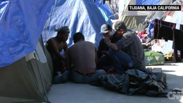 Estar en EU en 2019 es la esperanza de los migrantes en Tijuana