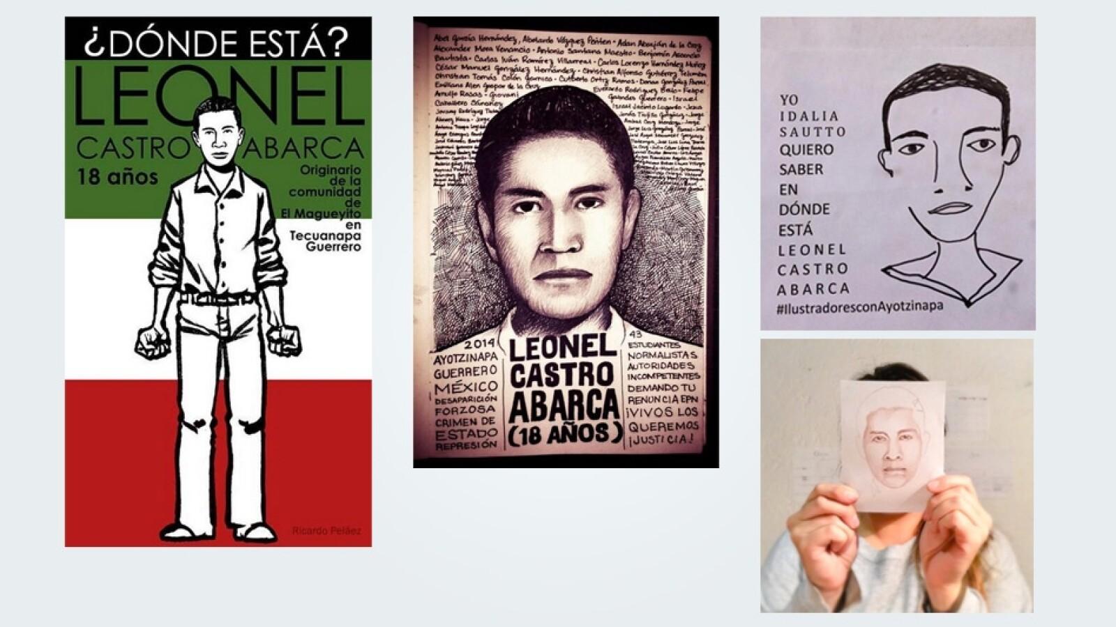 Leonel Castro Ayotzinapa