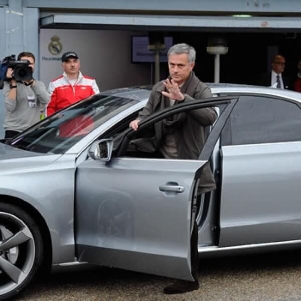mourinho recbie su audio en el 2012
