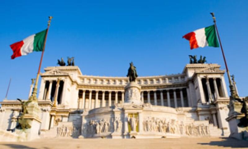 Italia es una de las economías más endeudadas y con menor crecimiento del mundo. (Foto: Thinkstock)