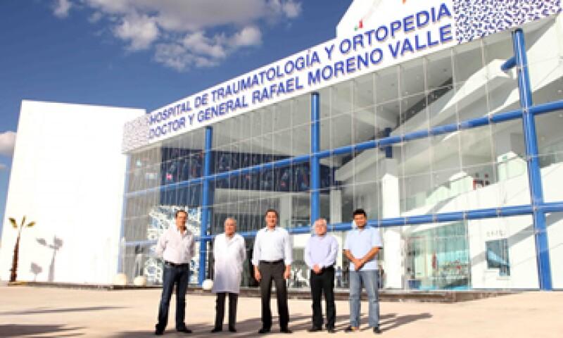 El hospital de Traumatología y Ortopedia, con un costo de 711 mdp (Foto: Gobierno de Puebla/Cortesía)