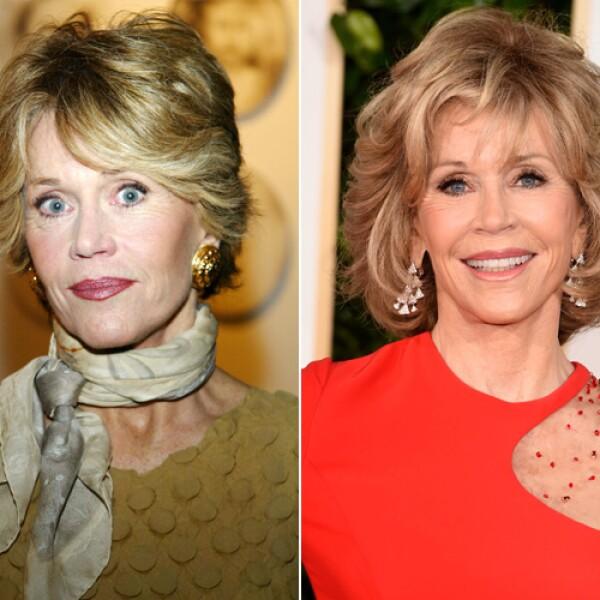 Jane Fonda es impresionante. Así se ve a sus 77 años.